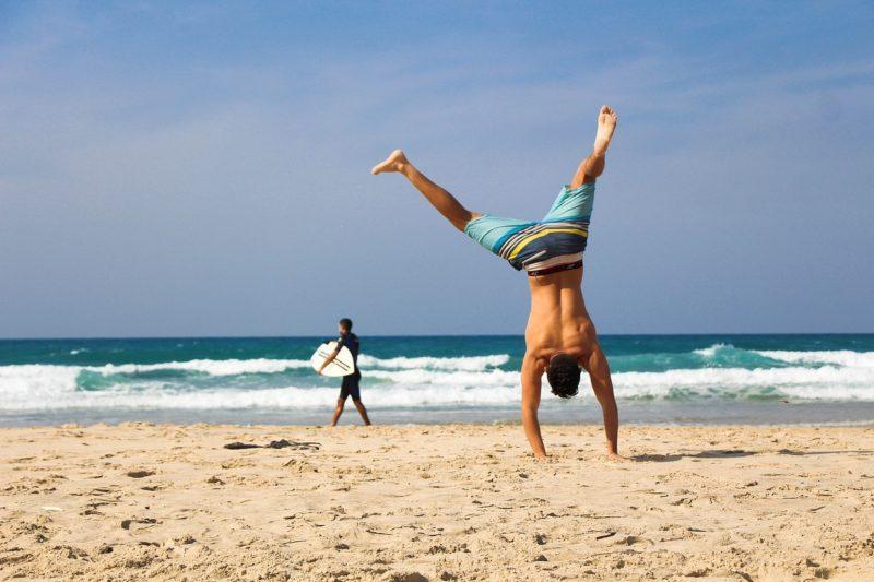 спорт и море