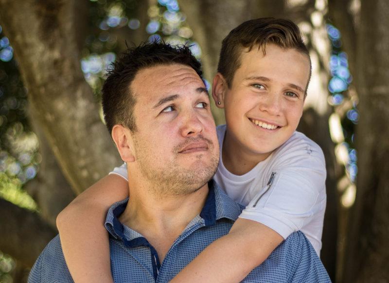 Сын и отец