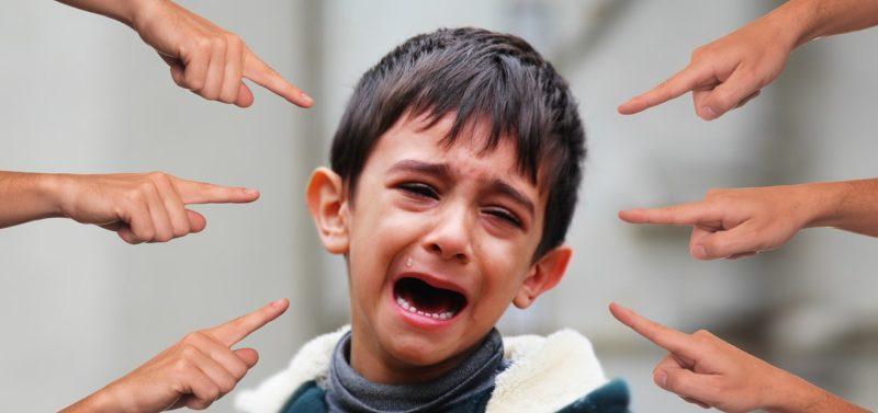 Насмешки и издевательства у детей