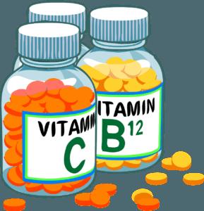 Витамины C и B12