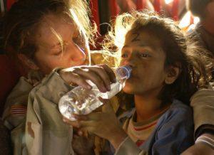 Пить воду для успокоения